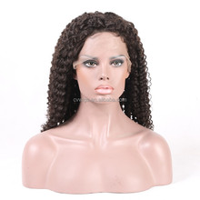 2017 New Arrival Unprocessed Virgin Wigs The 100% Indian Human Hair Lace Front Wig