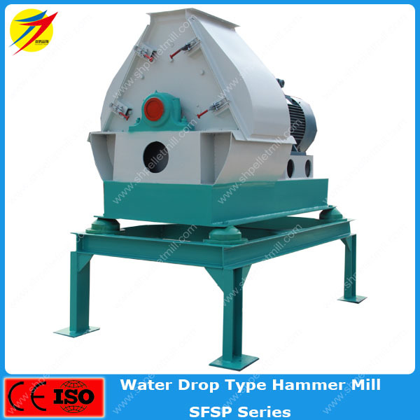 Factory sale livestock feed grinder hammer mill with blower