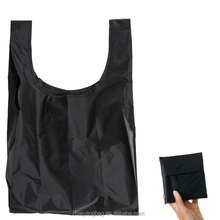 Candy wholesale cheap custom reusable nylon folding shopping bag