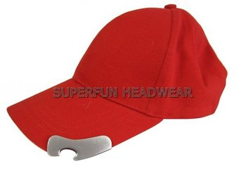 beer promotional bottle opener hats