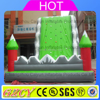 PVC material inflatable favorable kids used rock climbing wall for sale