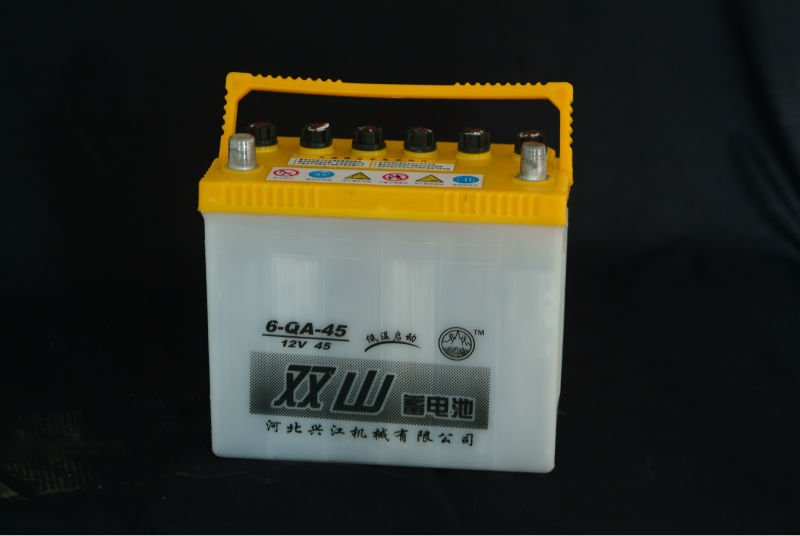 Super power lead acid storage battery dry charged 12V 45AH