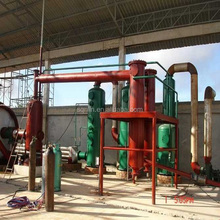 New waste tire recycling pyrolysis plant for fuel oil