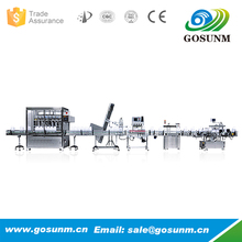 New product 2017 automatic vegetable oil bottles filling line for sale