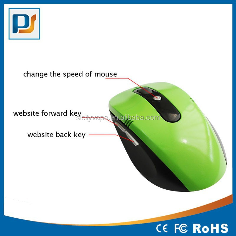 Custom logo Computer 2.4Ghz 6D wireless gift mouse