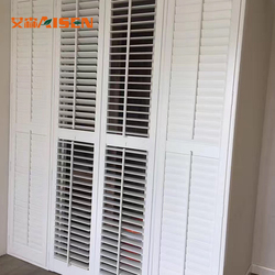 Home room security blinds interior residential plantation shutters for window and door