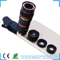 180 Fisheye+Wide Angle+Macro Lens Photo Camera Kit Set 3 in1 Smartphones Fisheye lens mini camera lens for samsung galaxy s4
