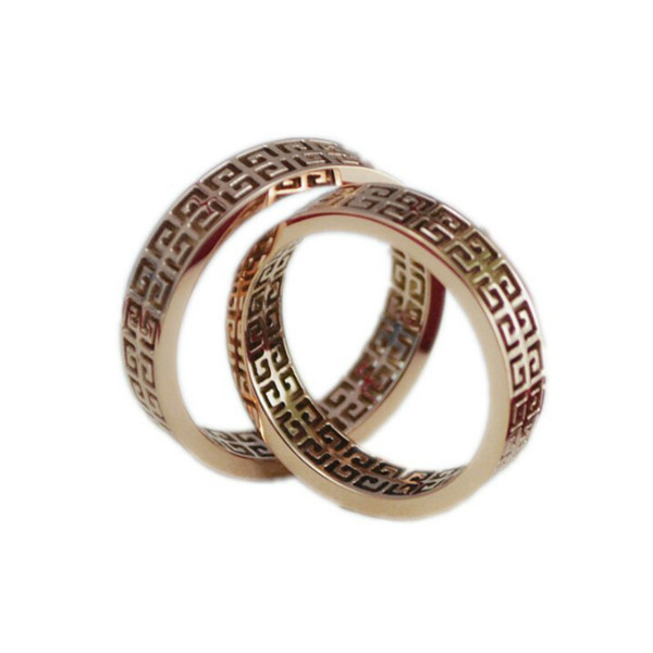 Yiwu Aceon stainless rose gold plated replicas ring fashion jewelry for 1.00