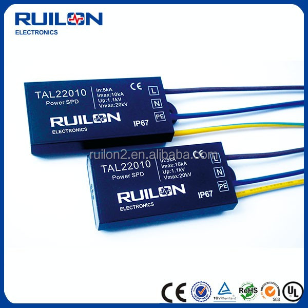 Luminaire Overvoltage Protection 10 KV Voltage Strike Resistance Surge Protection Devices