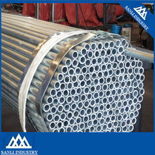 low carbon ERW steel galvanized 19mm round mild steel tube and pipe for furniture black steel pipe