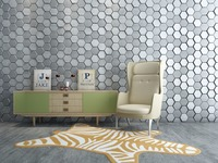 Interior wall decoration 3d wallpapers home wallpaper 3D leather wall Covering