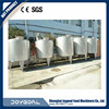 factory directly sale high quality portable milk storage tank vacuum milk storage milk