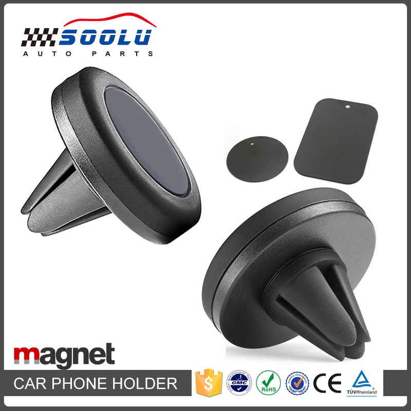 Universal Round Magnetic Air Vent Phone Holder for Car