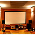 "100""16:9 Top-selling 3d fixed frame screens for home theatre"
