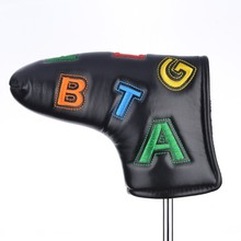 High Quality iron Head Cover PU Leather Promotion Golf Putter Cover