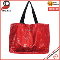 High Quality Sequined Traveling Tote Bag New Design Shopping Bag