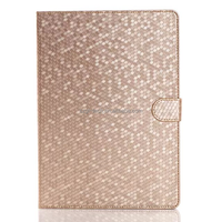 For Ipad air 2 Bling Diamond Pattern Flip Smart Stand Leather Case, For Ipad Luxury Folding Smart Cover Case