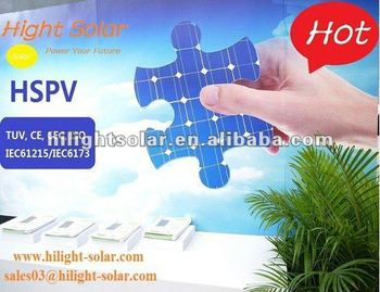 mono solar panle sale with TUV