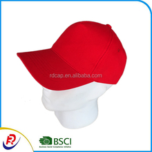 100% cotton 10*10 high quanlity thick fabric baseball golf cap and hats promotional red metal buckle