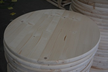 Egge glud Pine Round Table