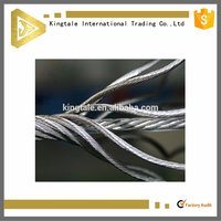 Steel wire rope for crane ungalvanized steel wire rope aircraft cable