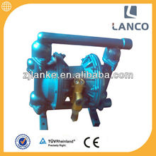 Lanco brand QBY air operated double Pneumatic Diaphragm diluted hydrochloric acid pump