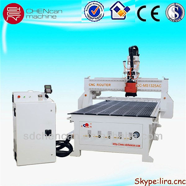 large Wood CNC engraving/engraver router machine With ATC Spindle can do milling/drilling/cutting