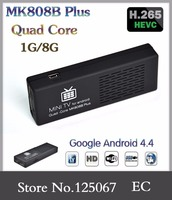 quad core google android 4.4 tv box MK808B amlogic S805 kodi/Xbmc full hd 1080p direct tv set top box smart android tv box