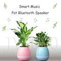 New Product Smart Waterproof Bluetooth Speaker 2017 With Music Flowerpot