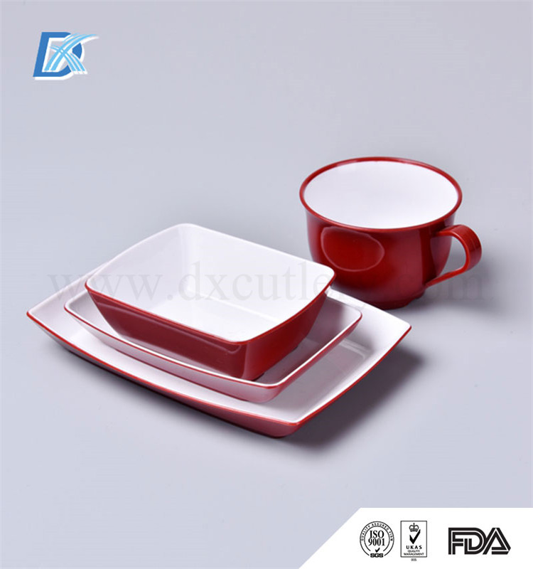 Aviation Inflight Double Color Home Goods Dinnerware Set
