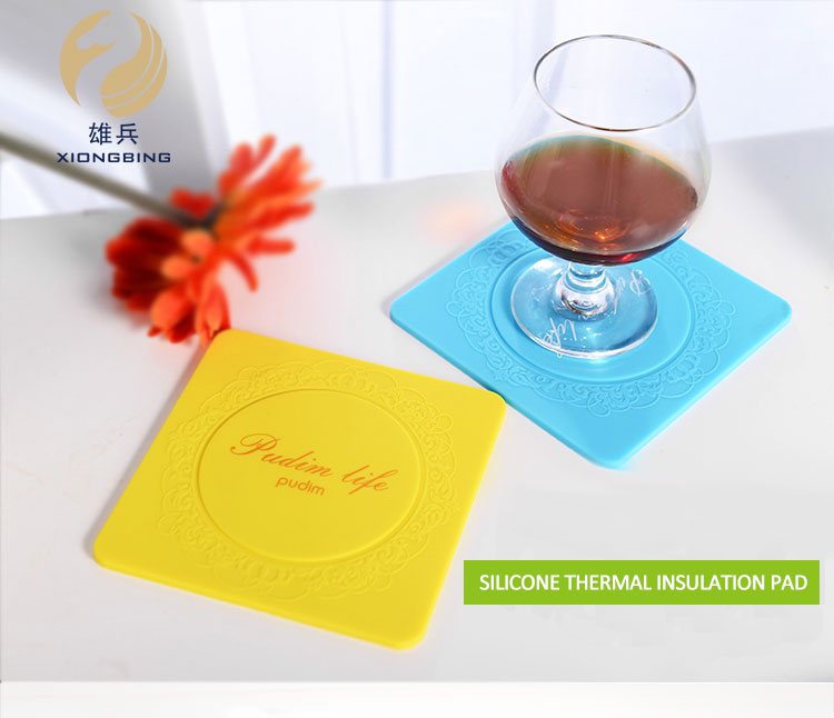 Kitchen Heat Resistant Plate Silicone Baking Cup Mat With Custom Printing