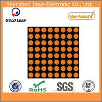 flexible led display module orange color
