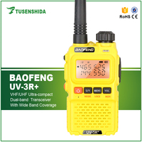 3W Baofeng Walkie Talkie BF UV-3R+ Transceiver with UHF/VHF Dual Band Interphone