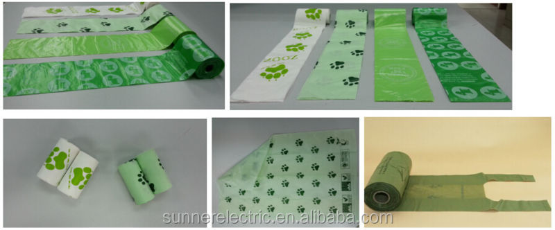Eco friendly pet product/biodegrdable fragrance dog waste bags