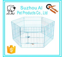 China Wholesale Newly Designed Pet Folding Metal Dog Cages Portable Dog Fence