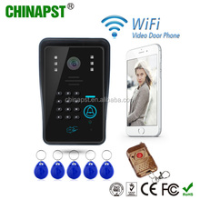 2017 Newest Home Android/IOS Multi apartment access control system Wifi Doorbell Video Wireless Video Door Phone PST-WIFI002IDS
