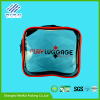 soft loop plastic zipper package, clear popular baby clothes box, plastic garment case SHWK2984