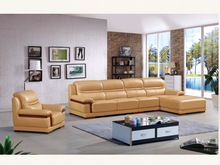 High Quality Modern Genuine or Rexine Leather PU Living Room Sofa Foshan Ref.A316