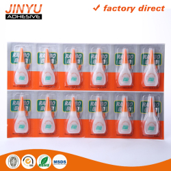 factory price quick dry plastic bottle 502 cyanoacrylate adhesive super glue