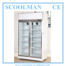 Commercial Use Double Door Refrigerator Dimensions