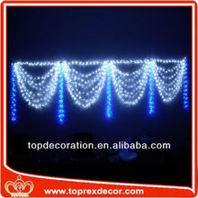 Blue color window decoration c7 string light with clear g40