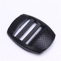 Fashion custom glide buckles plastic for backpack accessories