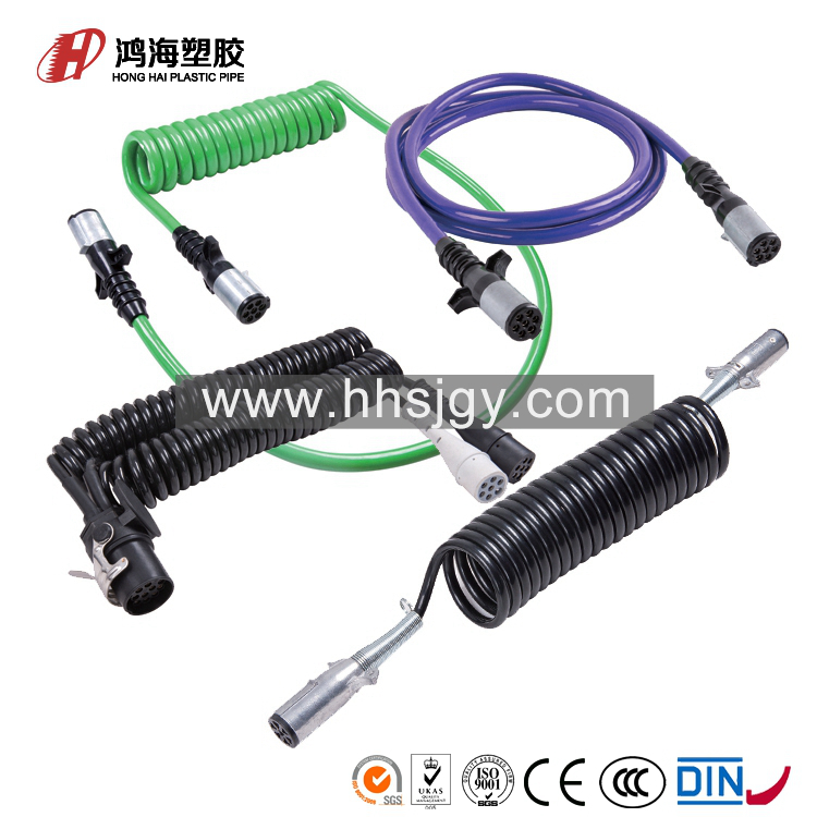 HH-C-30407 truck trailer diagnostic cable 12v with alu plug