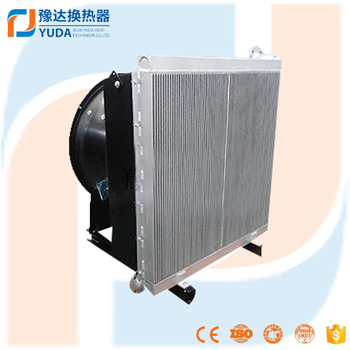 Hot selling OEM custom made aluminum plate tractor oil radiator
