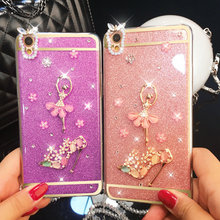 for iPhone 7 Case,for iPhone 7 tpu Case Luxury Bling Diamond Crystal Clear hard tpu Back Case For iPhone 6