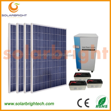 Solarbright portable mini wind solar hybrid power system with mobile charger the house solar electricity generating system