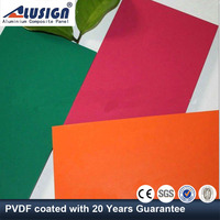 Alusign hot sale aluminium composite panel facade covering with hs code