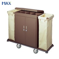 hotel laundry housekeeping trolley