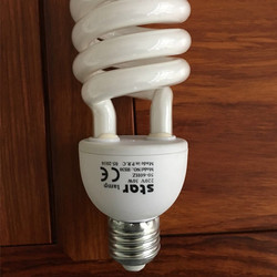 China good quality 15 years 26w half spiral CFL energy saving lamp