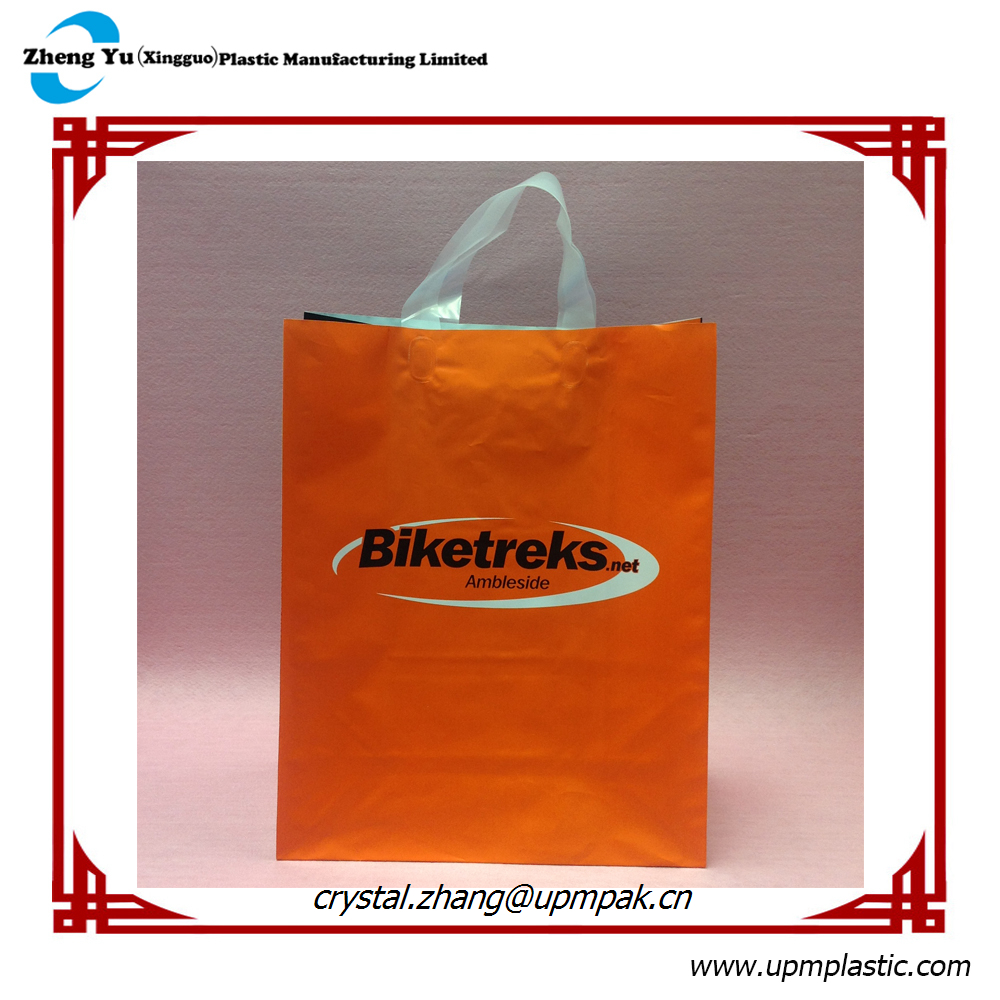 High Quality Full Color Printed Plastic Gift Bag